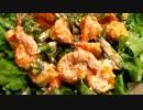 海老マヨ♪~緑の野菜たっぷりで!~【緑の野祭】