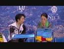 【ニコニコ動画】2012 WC 羽生結弦 FS ロミオ+ジュリエット NBC解説を解析してみた