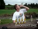 【ニコニコ動画】馬鹿な外人が飲めもしない(←これ重要)ウオッカカクテルを6本一気飲み!を解析してみた