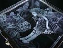 【ニコニコ動画】【手芸祭】ガラス箱に妖精さん彫ってみた【グラスリッツェン】を解析してみた