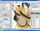 テニミュキャスから幸村を三次元トレスで描いてみた thumbnail