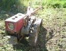 40年くらい前の耕運機を動かしてみた thumbnail