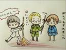 【ニコニコ動画】友達が描いた絵に音声をつけたよ☆(祝☆第十弾☆)を解析してみた