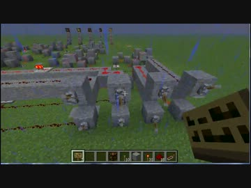 【Minecraft】4ビット加算器作った