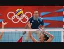 【ニコニコ動画】ロンドンオリンピック女子バレー 日本×中国 04/16 第一セットを解析してみた