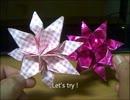 折り紙で折る花のブローチ.m4v