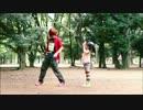 【ニコニコ動画】【りりり,ただのん】白い雪のプリンセスは踊ってみた【05】を解析してみた