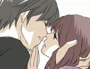【手描き】赤桃でキス唾【シンケンジャ】