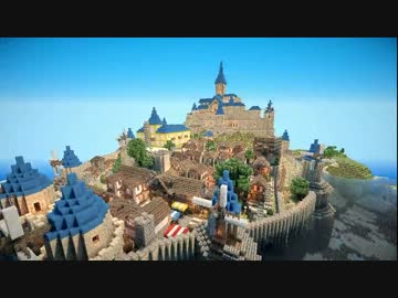 Minecraft】 四角い世界に風そよ...