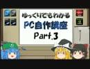 【ニコニコ動画】ゆっくりでもわかるPC自作講座  Part.3を解析してみた