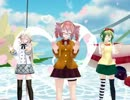 【ニコニコ動画】【MMD】制服姿の3人に『メランコリック』を踊って貰った【テト、IA、GUMI】を解析してみた