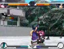 EFZ4.02 battle movie YUN(水瀬名雪) vs Aloner(川名みさき)