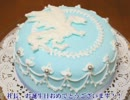 社長の誕生日なので、嫁シュガーケーキ作ってみた。