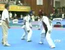 とある国で開催されたユニバーシアードのテコンドー 韓国vsイラン thumbnail