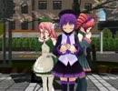 【UTAU+MMD】UTAU三人娘で『Melody Line』