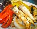 酒の肴の野菜のエスニックホットソテー&豆腐ステーキ