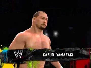 WWE'13】谷津嘉章と山崎一夫の15...
