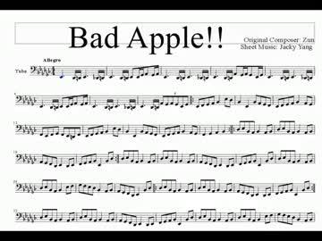 bad apple 着メロ