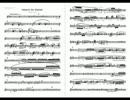 【ニコニコ動画】【自作曲】クラリネット協奏曲ト短調 (2012) 全楽章を解析してみた
