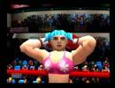 【逆リョナ】ダイナマイトボクシングの女性ボクサーにボコボコにされる