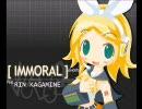 【鏡音リン】リンが川田まみと一緒にIMMORALを歌ってみた (比較用) thumbnail