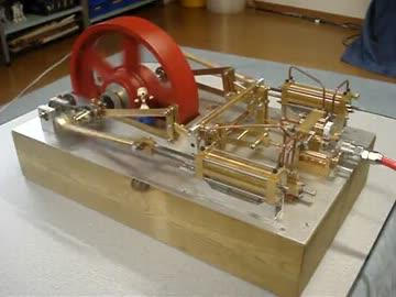 蒸気機関を作ってみた by 39ch ...