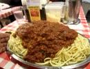 【大食い】スパゲッティのパンチョ渋谷道玄坂店 星人2.1kg
