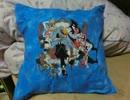 【ニコニコ手芸祭】丑三ッ刻水族館のクッションカバーを刺繍してみた