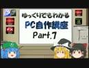 【ニコニコ動画】ゆっくりでもわかるPC自作講座 Part.7を解析してみた