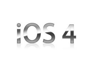 i0S 4 ロゴ