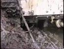 冬戦争で使用された三号突撃砲の回収作業映像