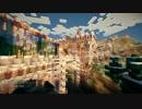 【Minecraft】断崖絶壁の村を城塞都市にする part4【ゆっくり...
