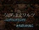【ニコカラ】うしろまえワルツ(on vocal)/PENGUINS PROJECT