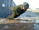【ニコニコ動画】【ロシア】足だけで腕立て伏せをする兵士【筋肉】を解析してみた