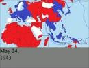 【ニコニコ動画】日独の勢力圏の変遷【第二次世界大戦】を解析してみた