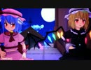 【MMD】月夜に舞う美しき姉妹