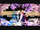 【ニコニコ動画】【東方MMD】桜と美人達21人でNo Life Queen【60fps】を解析してみた