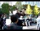 教育基本法の改悪をとめよう!11・12全国集会で右翼が抗議
