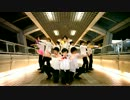 【ニコニコ動画】男10人で モーニング娘。 - One・Two・Three を踊ってみたを解析してみた
