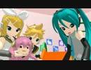 【MMD-OMF3】ぷち達が遊んでるだけ【アクセサリ配布】