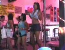 Sexy thai ladies dancing in soi 7, Pattaya.