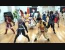 【ニコニコ動画】【戦国BASARAコスで】足軽ダンス踊ってみた【15人+2人】を解析してみた