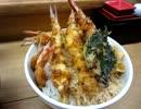 【グルメ】天ぷら革命『ふじ好』の海老天丼 +『未来へ号』