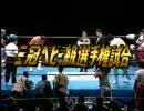 三冠ヘビー級選手権試合 三沢光晴 VS スティーブ・ウイリアムス