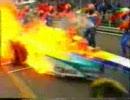 F1クラッシュ動画