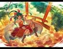 東方自作アレンジ 紅いじゃのめ傘と白雨