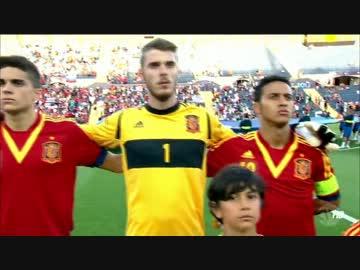UEFA U-21欧州選手権 スペインvs...