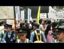 渋谷で安倍総理の演説を妨害していた人たち