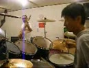 RUSHのLimeLightをベースとドラムで演奏してみた We covering LimeLight by drums & bass.
