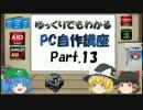 【ニコニコ動画】ゆっくりでもわかるPC自作講座 Part.13(最終回)を解析してみた